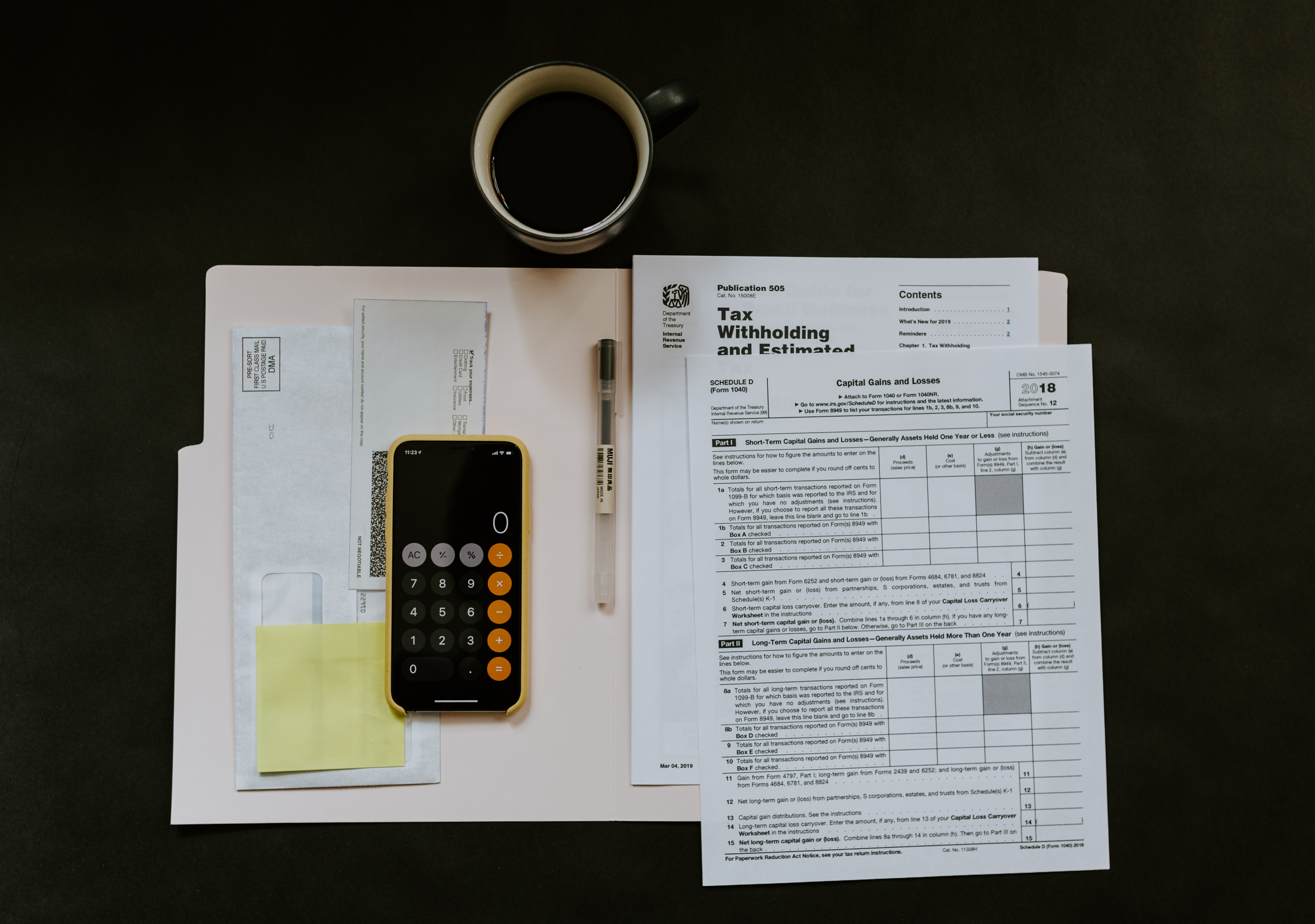 Working out Corporation Tax on calculator